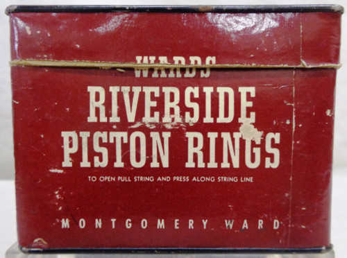 Montgomery Ward Riverside Piston Rings Box