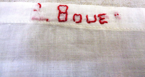 WWI / WWII Red Cross Medic's Cotton Cloth