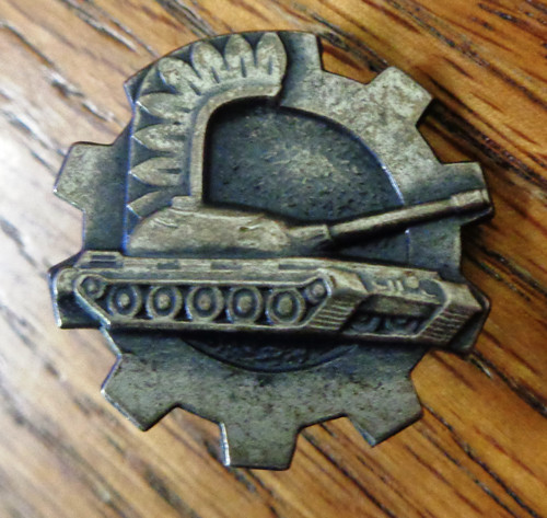 Polish WWII Tankers Badge