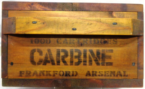 Custom Made For Display Frankford Arsenal Wood Ammunition Box