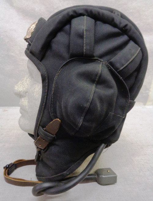 Russian Winter Tankers Helmet with Officers Cap Device