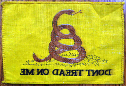 Don't Tread On Me 4x6 Pennant