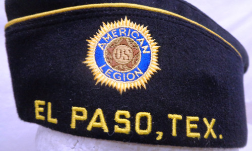 American Legion Chaplain for El Paso, TEX. Post 510 Garrison Cap