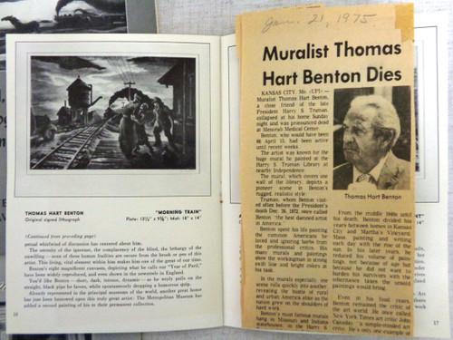 Associated American Artists Catalogue & Supplements circa 1970's
