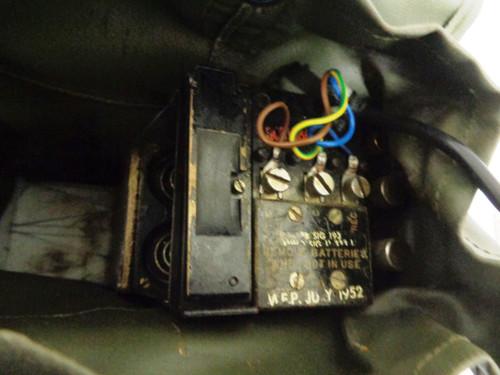 U.S. Army Korean War Era Field Phone
