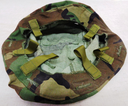 U.S. Army Woodland Camouflage Cover for PASGT K-Pot Helmet