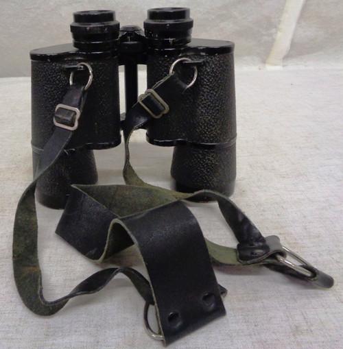 Carl Zeiss Jena / Pentekarem 15 x 50 Binoculars with Case and Strap
