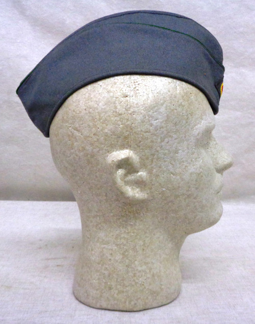 West German Bundeswehr Army Side Cap with Green Piping