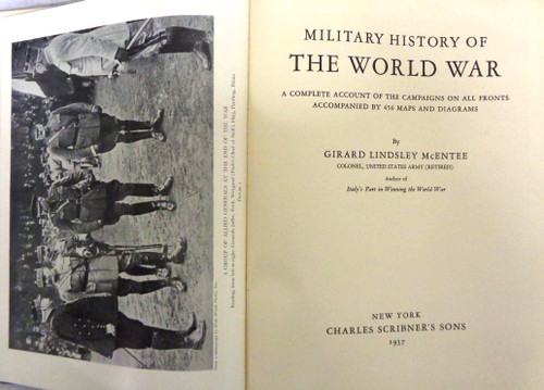 Military History of the World War by Girard Lindsley McEntee
