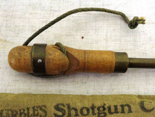 Marbles Shotgun Cleaning Rod No. 400 - !0, 12, 16, 20 Gauge with Storage Bag
