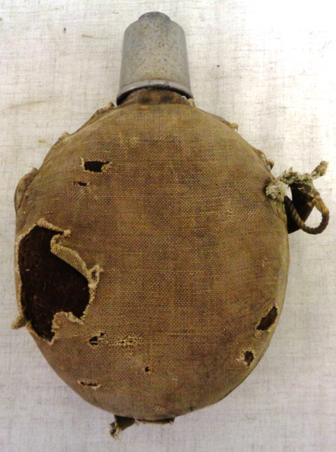 Japanese WWI Canteen with Cover and Cup