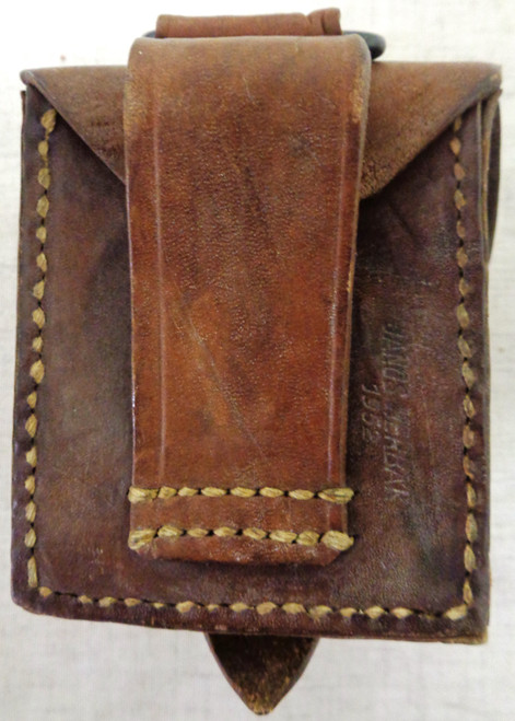 Romanian Moison Nagant Ammo Pouch dated 1952