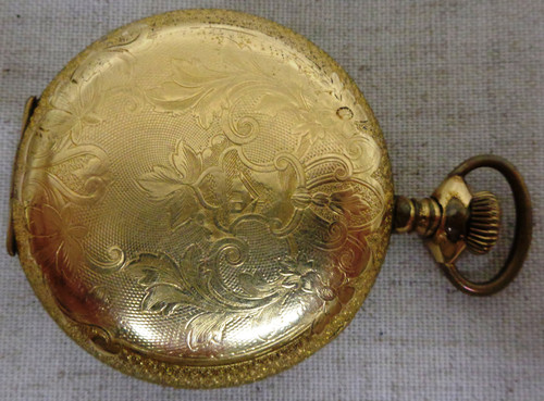 Elgin Gold Plated Pocket Watch No. 836111