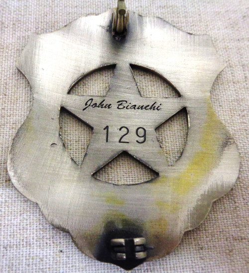 U.S. Marshal Badge Commissioned by John Bianchi - No. 129 of 1000