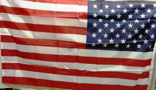 American 50 Star Flag Silk Screened on Nylon