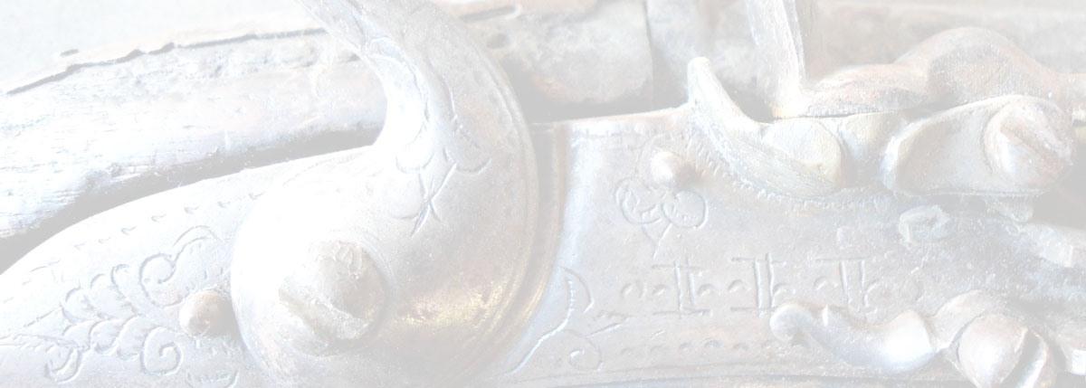 Antique Engraved Flintlock