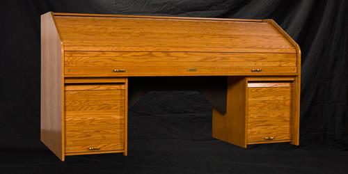 RTQUAD-II Custom Quad Rolltop Desk