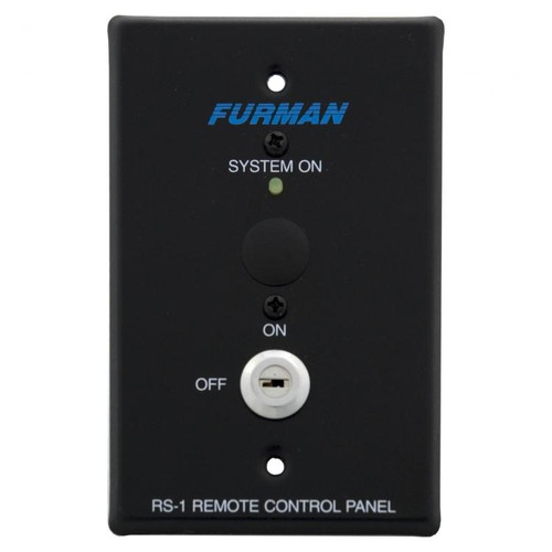 Furman RS-1 Remote System Control Panel Key Switch