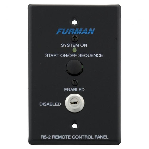 Furman RS-2 Remote System Control Panel Key Switch