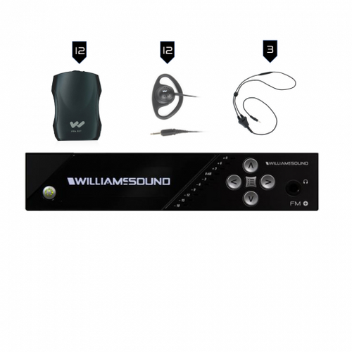 Williams Sound FM Plus FM 557 FM/WiFi Listening Assist System