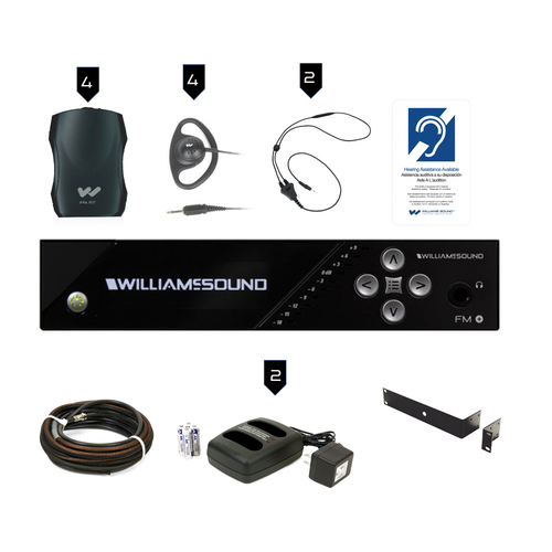 Williams Sound FM Plus FM 557 PRO FM/WiFi Listening Assist System
