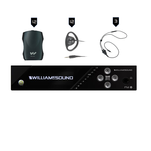 Williams Sound FM Plus FM 557-12 FM/WiFi Listening Assist System
