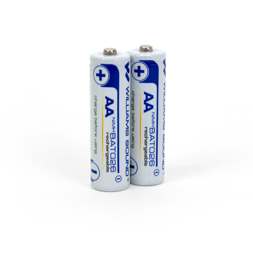 Williams Sound BAT 026-2  AA Rechargeable Batteries