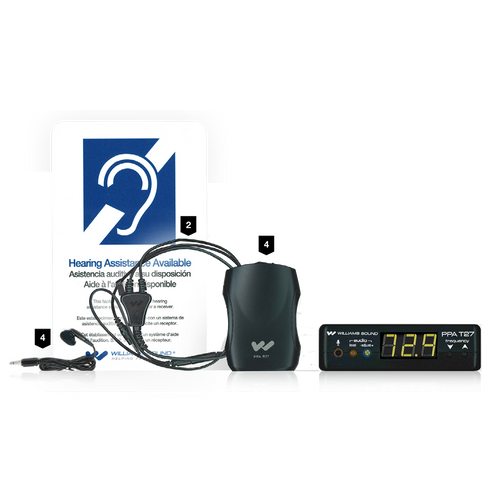 Williams Sound PPA VP 37 Personal PA Value Pack System