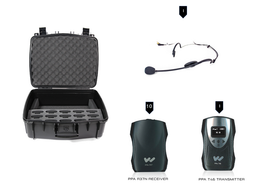 Williams Sound TGS PRO 737 Personal PA Tour Guide System