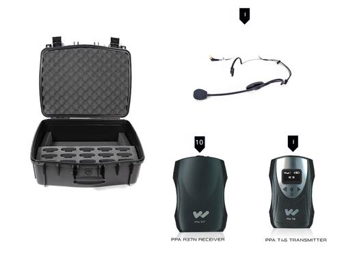 Williams Sound TGS PRO MULTI Personal PA FM Tour Guide System
