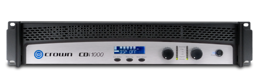 Crown CDi1000 Two-Channel Power Amplifier, front view