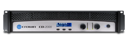 Crown CDi2000 Two-Channel Power Amplifier, front view