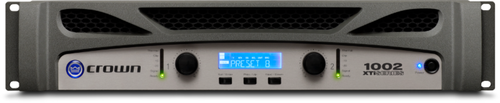 Crown XTi1002 Two-Channel Power Amplifier, front view