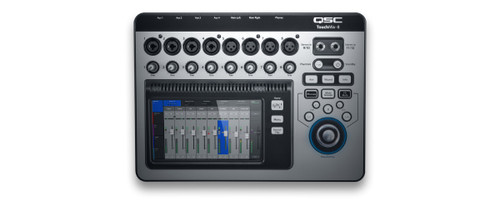 QSC Touch Mix 8  14-Channel Digital Mixer, top view