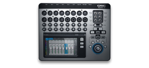 QSC Touch Mix 16  22-Channel Digital Mixer, top view