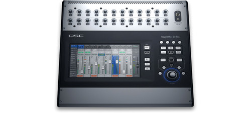 QSC Touch Mix-30 Pro  32-Channel Digital Mixer, top view