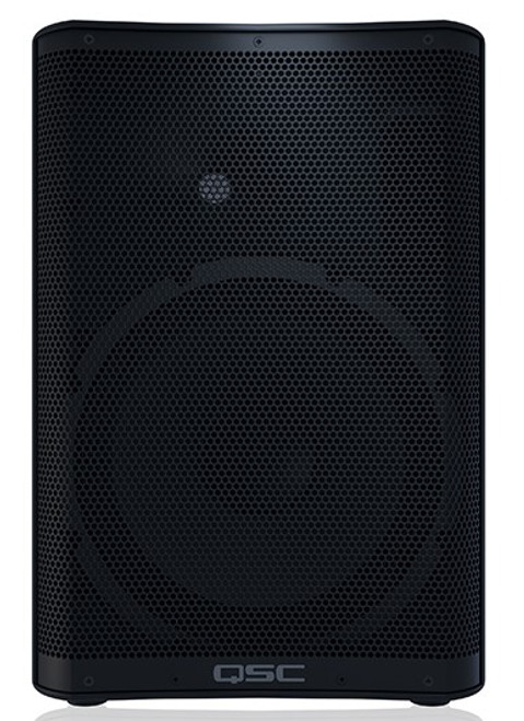 QSC CP12 Compact Active 12-inch Loudspeaker, front view