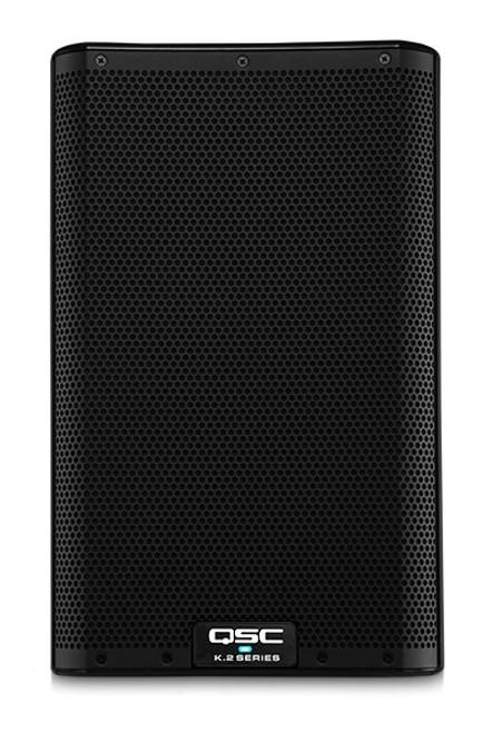 QSC K8.2 Active 8-inch 2-way Loudspeaker, front view