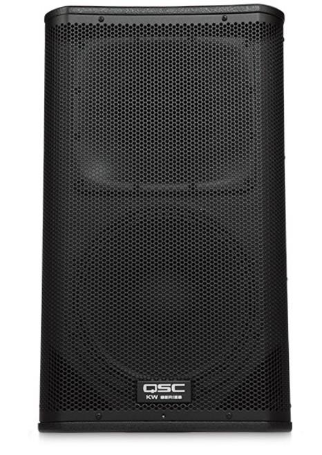 QSC KW122 Active 12-inch 2-way Loudspeaker, front view