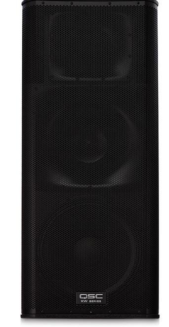 QSC KW153 Active 15-inch 3-way Loudspeaker, front view