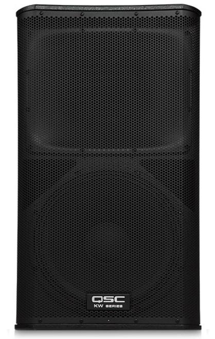 QSC KW152 Active 15-inch 2-way Loudspeaker, front view