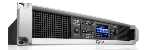 QSC PLD4.3 Four-Channel Power Amplifier, front view