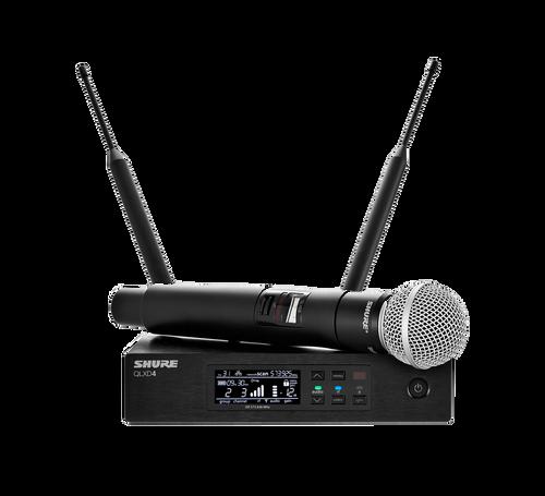 Shure QLXD24/SM58 Digital Wireless Handheld System