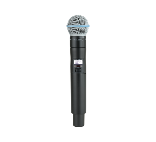 Shure QLXD2/B58 Digital Wireless Handheld Transmitter with Beta 58A Microphone