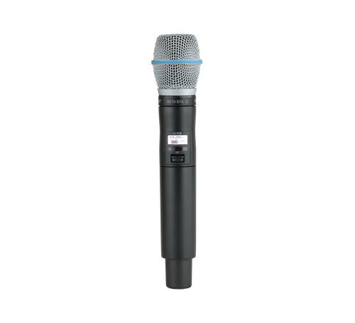 Shure QLXD2/B87A Digital Wireless Handheld Transmitter with Beta 87A Microphone
