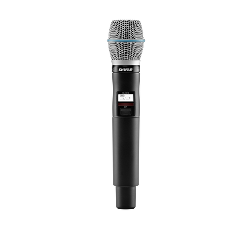 Shure QLXD2/B87C Digital Wireless Handheld Transmitter with Beta 87C Microphone