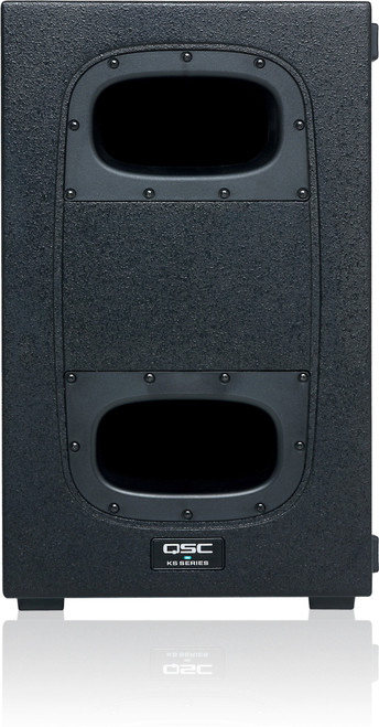 QSC KS212C Active Dual 12-inch Cardioid Subwoofer, front view