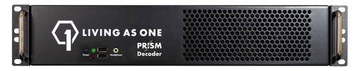 Living As One D2200 Prism Dual-Channel Decoder, front