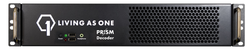 Living As One D2202 Prism Dual-Channel Decoder, front