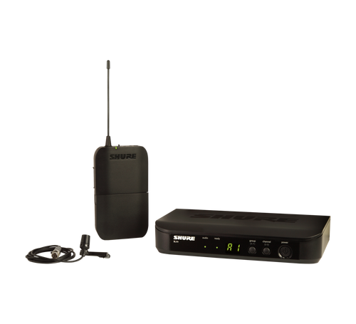 Shure BLX1288/CVL Dual Channel Wireless Lavalier & Handheld Microphone Combo System
